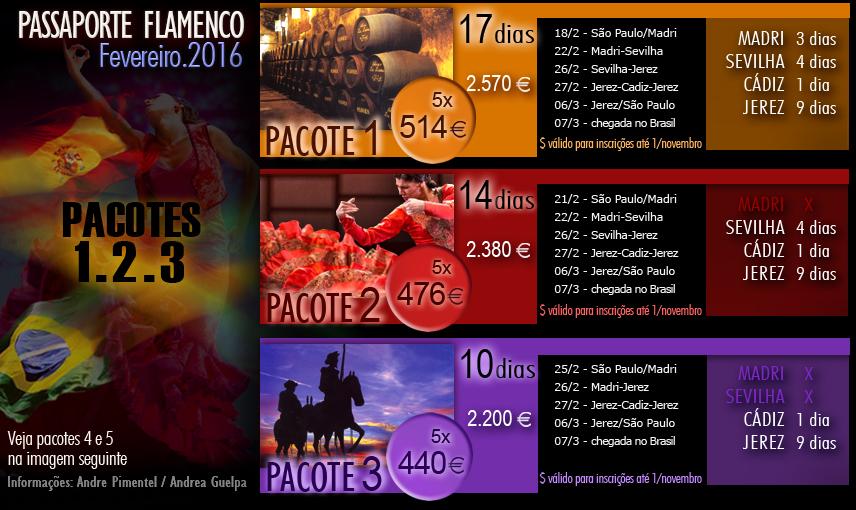 Passaporte Flamenco Viagem Espanha Festival de Jerez pacote