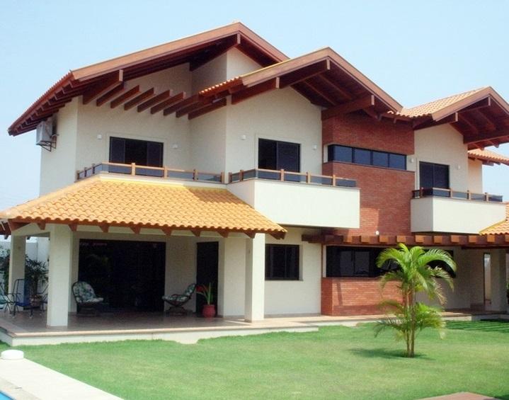 Casa TV Morena Campo Grande MS - sobrado telhado