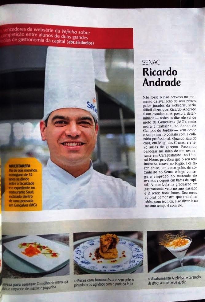 Chef Ricardo Andrade