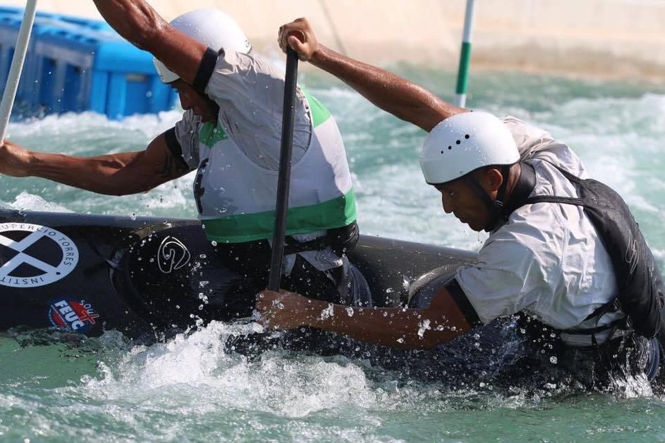 Aluno da FEUC disputa vaga olímpica na canoagem.