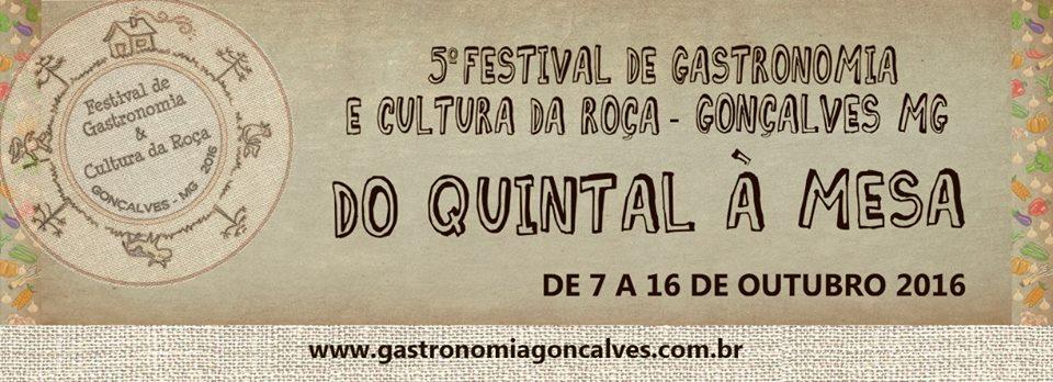Festival de Gastronomia e Cultura da Roça de Gonçalves MG