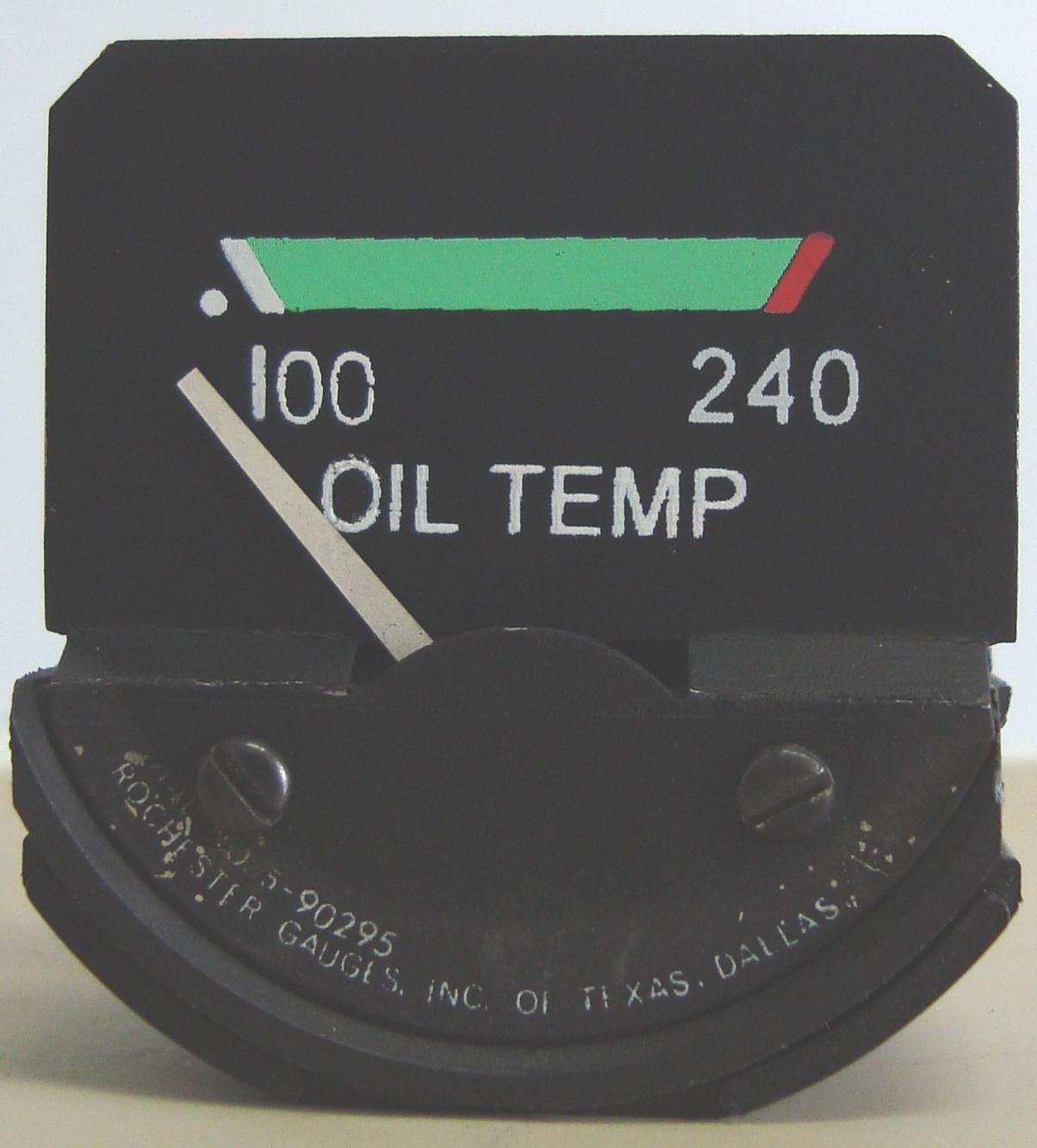 oil temp 28 vdc