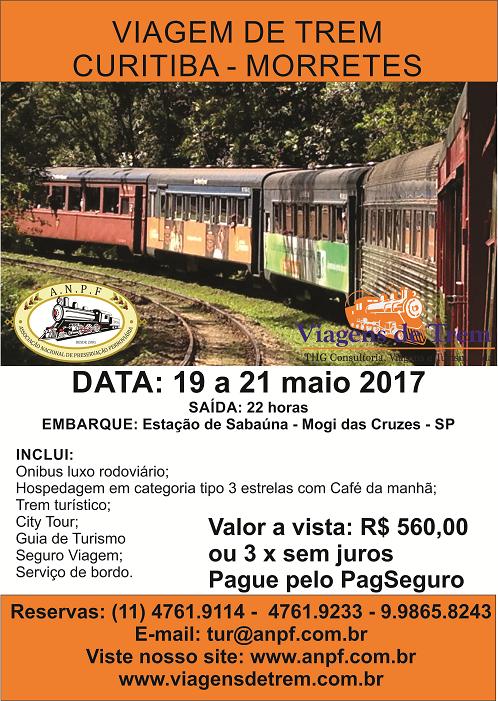 Viagem de Trem Curitiba