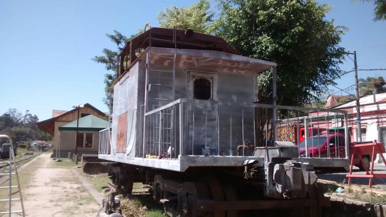 Vagão Caboose